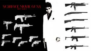 Scarface 1983 Guns Brushes