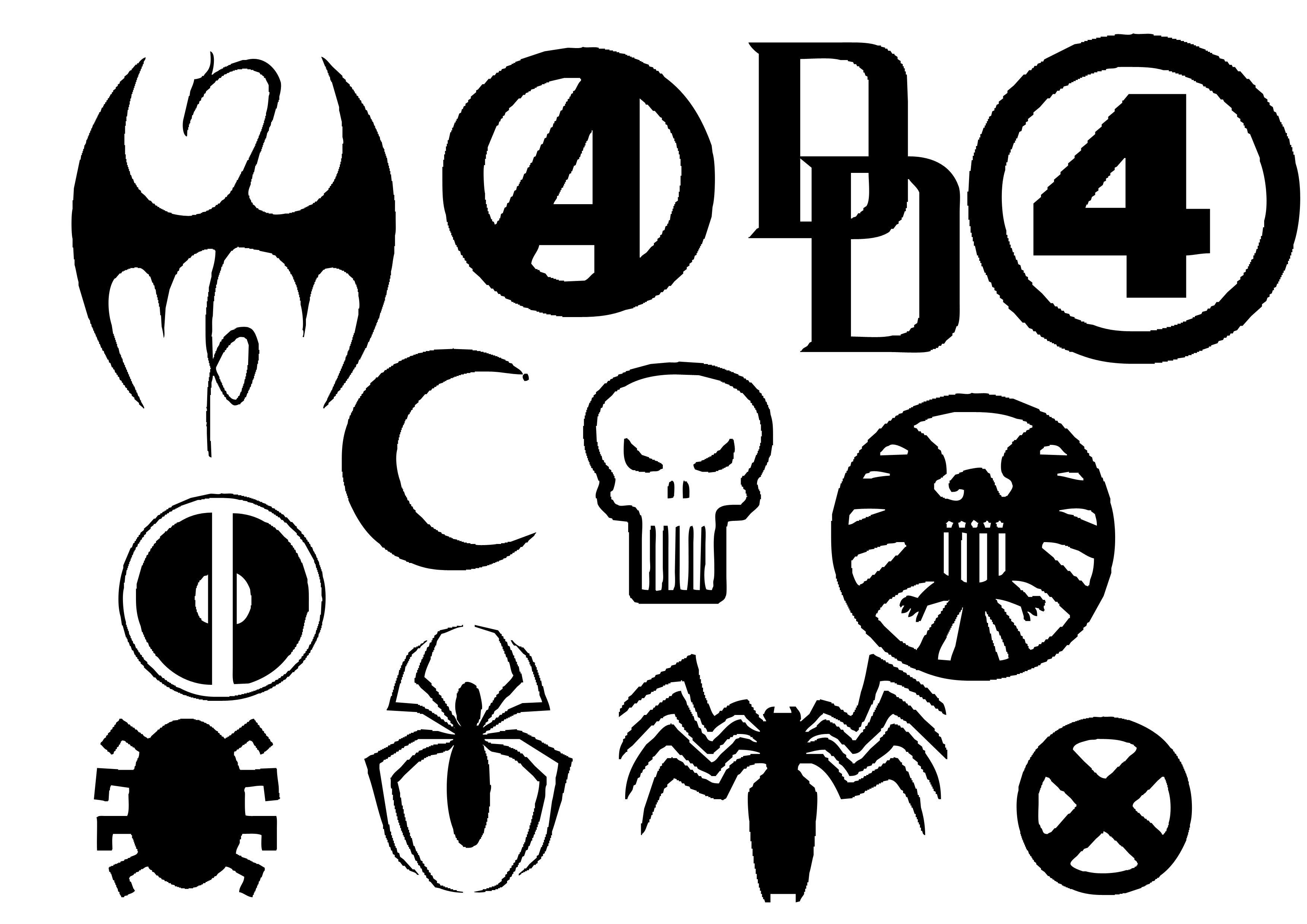 Marvel Hero Insignia by Geekbot71 on DeviantArt