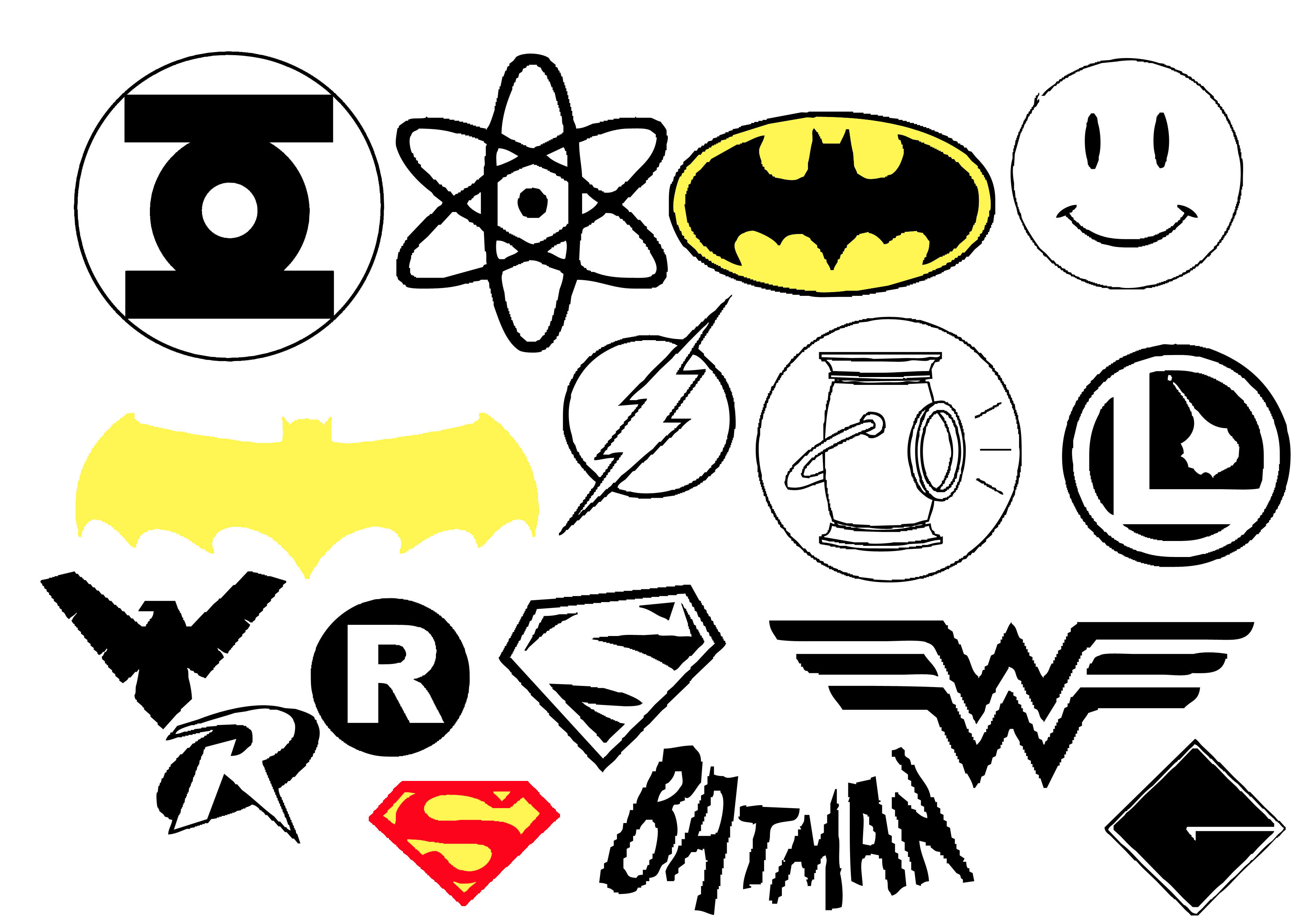 DC super Hero Insignia by Geekbot71 on DeviantArt