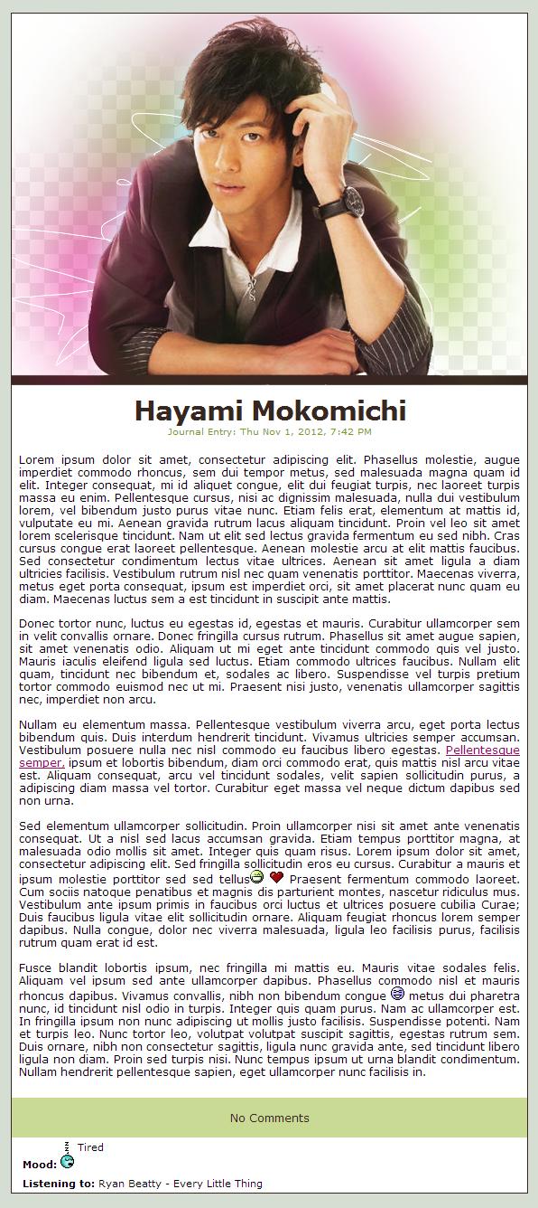 Hayami mokomichi wallpaper