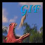 Dragon vore donkey (GIF)