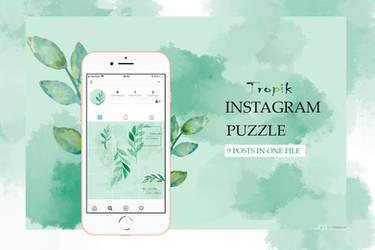 Instagram puzzle Tropik