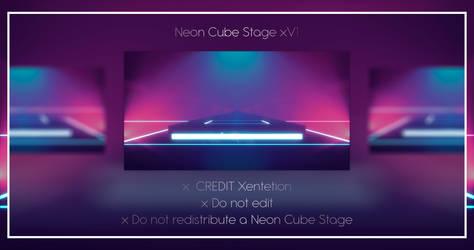 Neon Cube Stage xV1