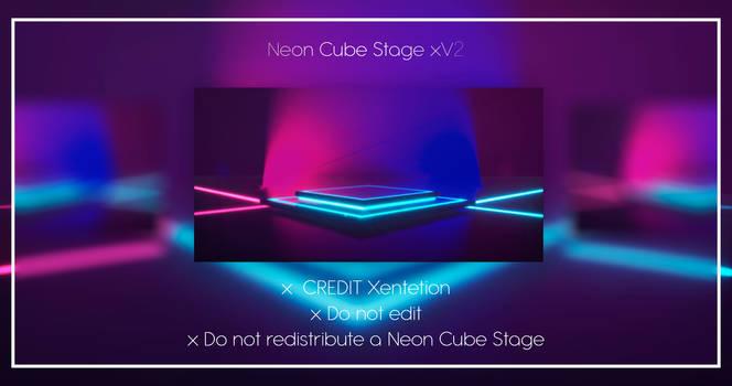 Neon Cube Stage xV2