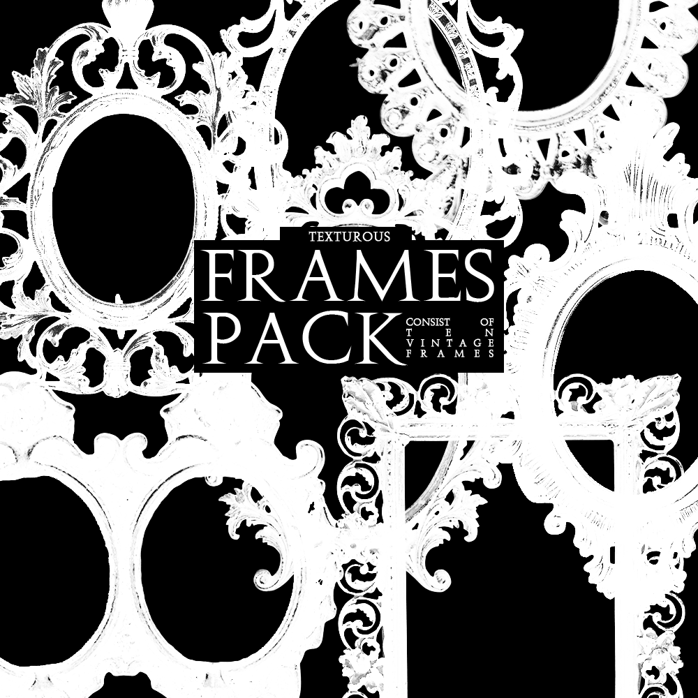 Frames Pack by texturous on DeviantArt