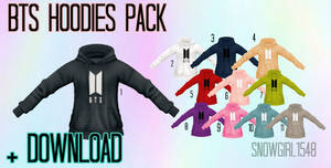 BTS Hoodies Pack Download