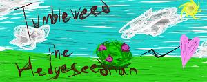 Tumbleweed the Hedgeseedrian by AllyLunarMobian
