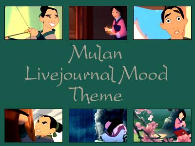 Mulan Mood Theme by snow-white-kt