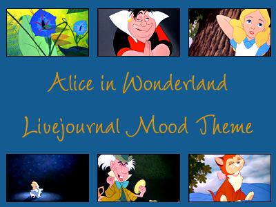 Alice in Wonderland Mood Theme by snow-white-kt