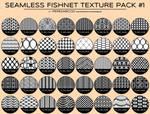 Seamless Fishnet / Lingerie Texture Pack #1
