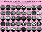 Seamless Fishnet / Lingerie Texture Pack #4