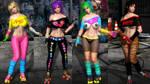 DOA5LR mod: Honoka Curvaceous Skater by peresabcod