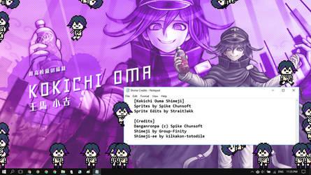 Shimeji - Kokichi Ouma