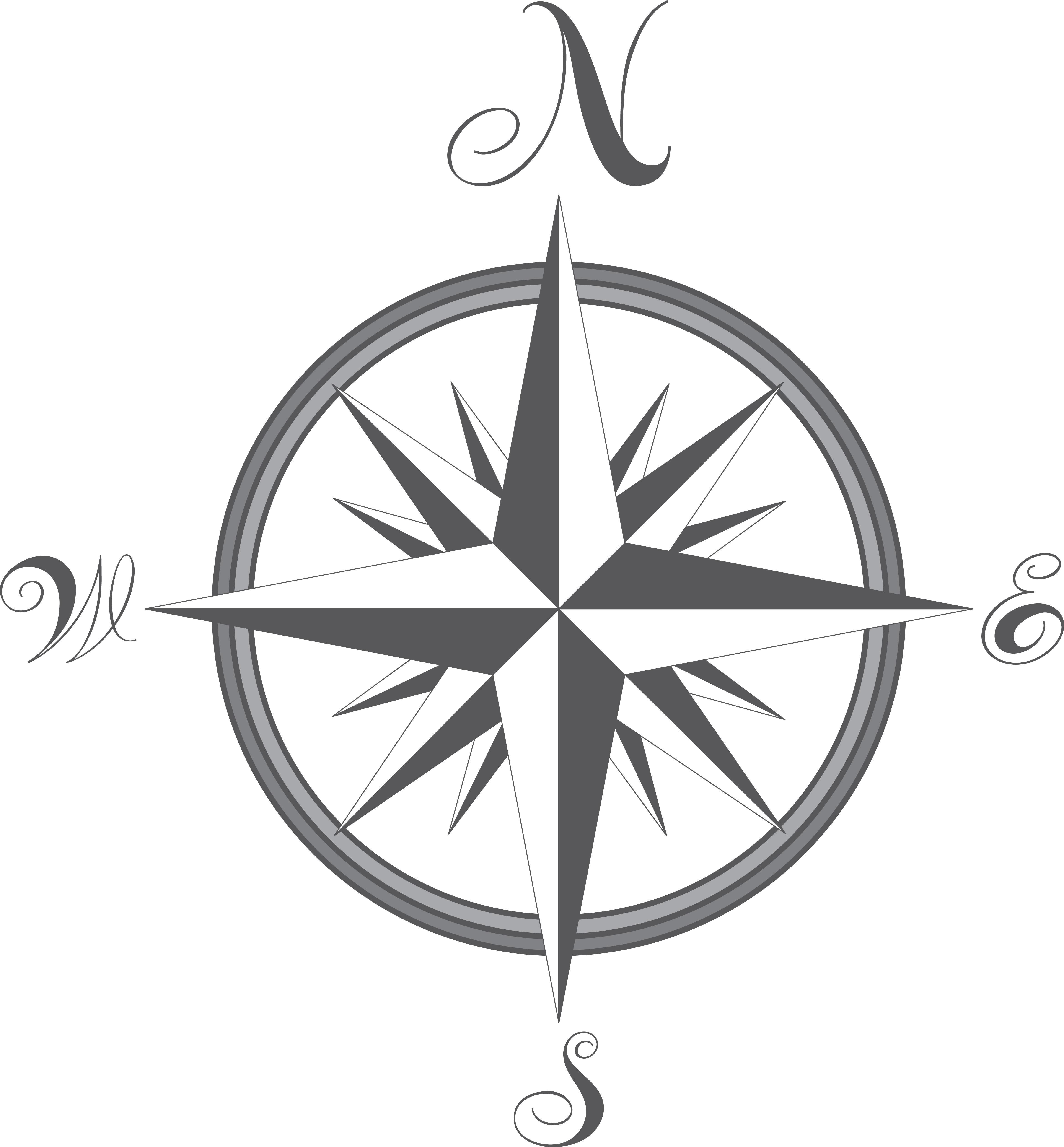 Compass - Vector by metaldan on DeviantArt