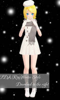 TDA Rin Winter Style Download [MMD]