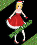 TDA Christmas - Rin Kagamine DOWNLOAD [MMD]