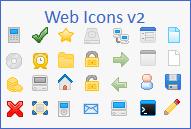 WebIcons v2 by g00glen00b