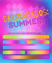 +DEGRADADOS~~ SUMMER! by CAMI-CURLES-EDITIONS