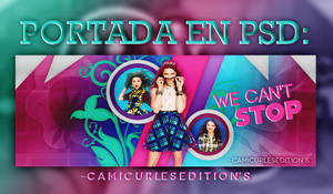 +PORTADA PSD: We Can't Stop!