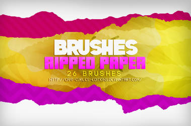 +BRUSHES: Ripped Paper |(Papel roto)