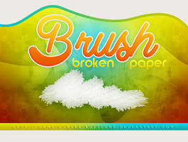 +BRUSH: Broken Paper | by CAMI-CURLES-EDITIONS