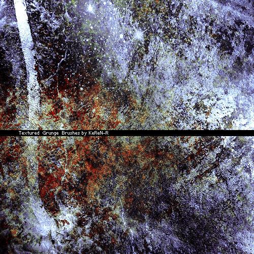 Textured Grunge Brushes by KeReN-R