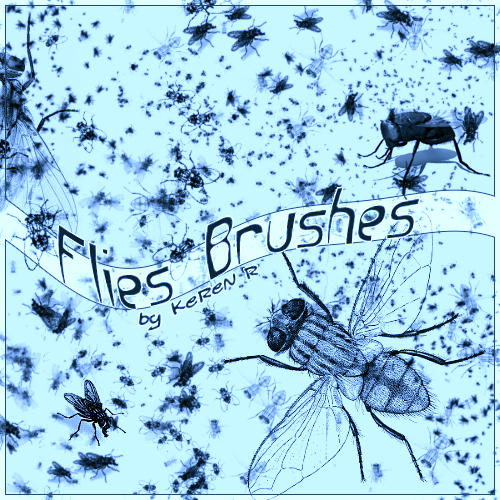 Flies Brushes by KeReN-R