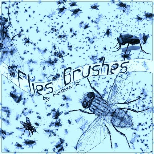Flies Brushes by KeReN-R