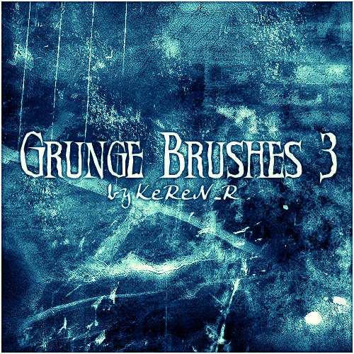 Abstract Graphics Grunge Brushes for Photoshop Volume 3