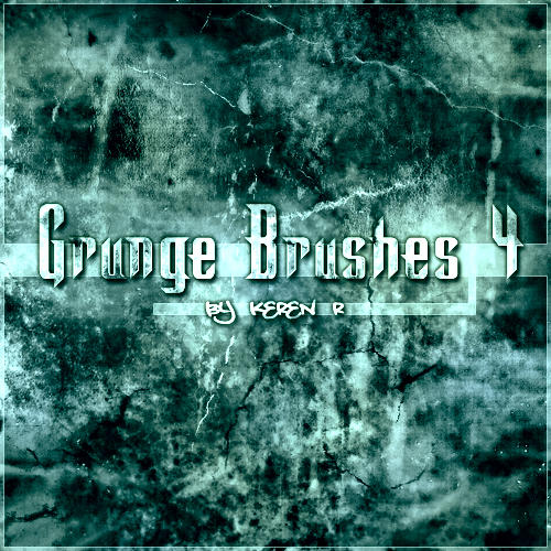 Abstract Graphics Grunge Brushes for Photoshop Volume 4