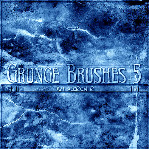 Abstract Graphics Grunge Brushes for Photoshop Volume 5