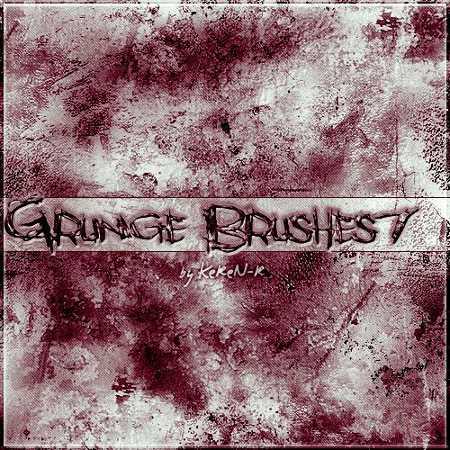 Grunge Brushes 7 by KeReN-R