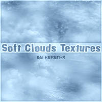 Soft Clouds Textures Brushes by KeReN-R
