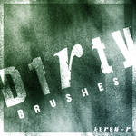 Dirty brushes ...