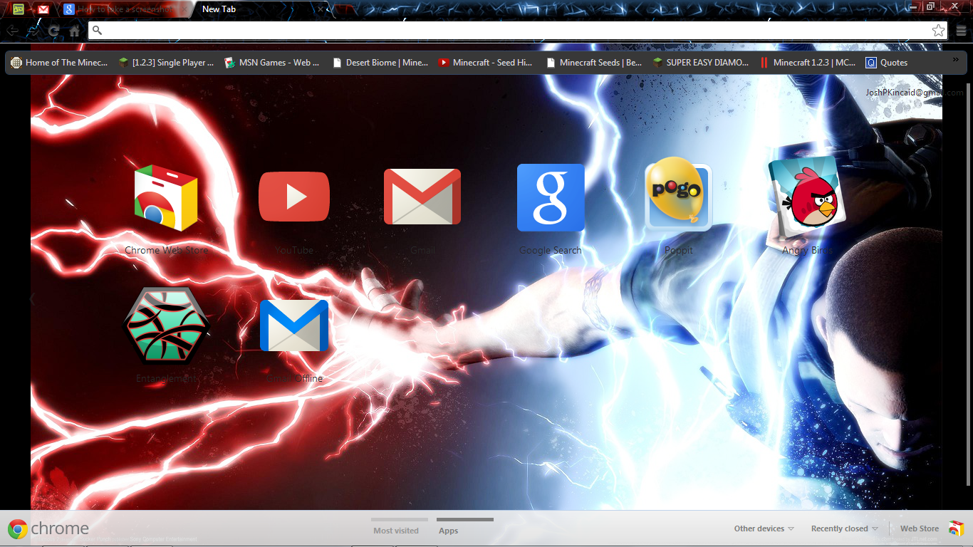 Google chrome themes quotes -  Infamous 2 Chrome Theme By Clone Commando