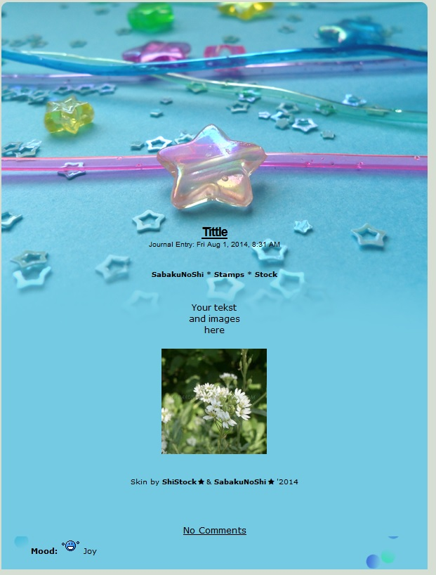 Journal skin - Paper sea [instalator] by ShiStock