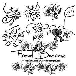 Floral Decor Art Brushes