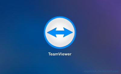 Teamviewer icon (flat)