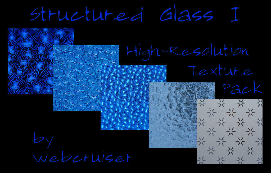 Sturctured Glass Pack I by webcruiser