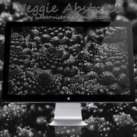 Veggie Abstract BnW
