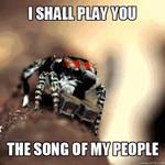 I shall play...