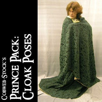 Prince Pack:  Cloak Poses by Cobweb-stock