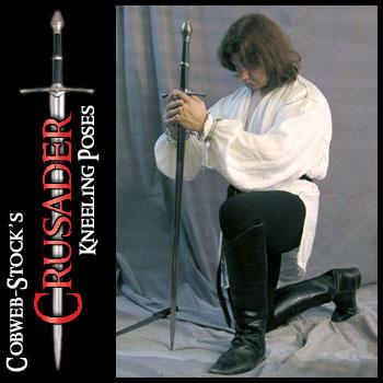 Crusader Pack: Kneeling by Cobweb-stock