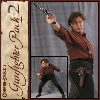 Gunfighter Pack 2 by Cobweb-stock