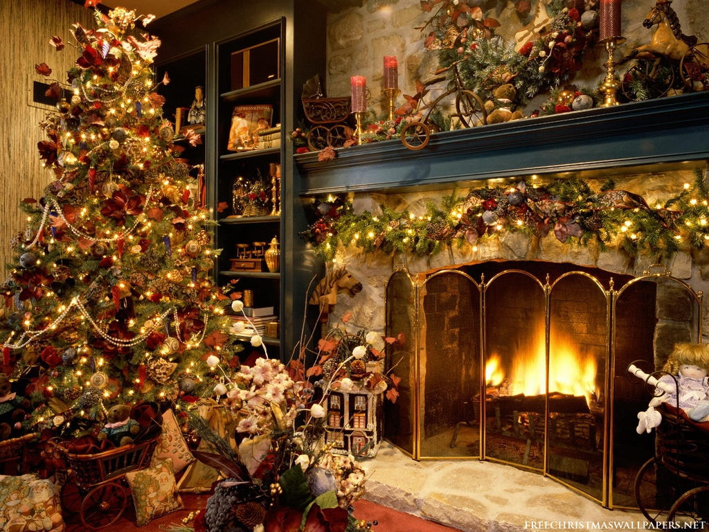 Красивейшие Волшебные Новогодние Обои