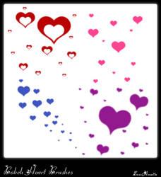 Bokeh Heart Brushes