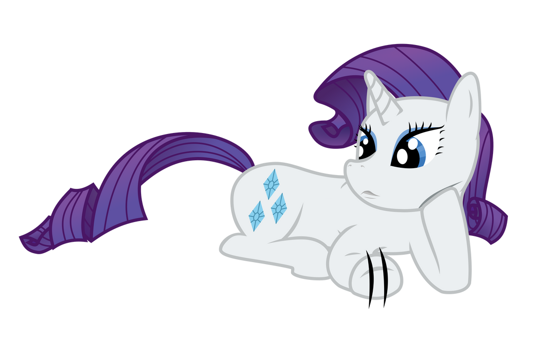 Rarity Lying Down And Waiting Vector By Skylark Torch On Deviantart