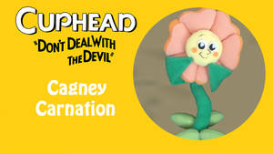 Cuphead: Cagney Carnation Pattern