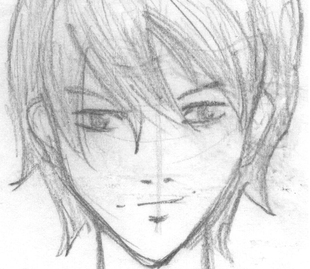 anime male face - HD1083×939