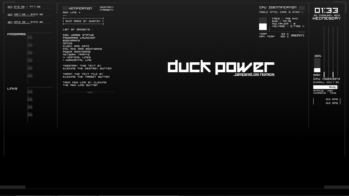 DuckPower 1.1 by expiredfoods